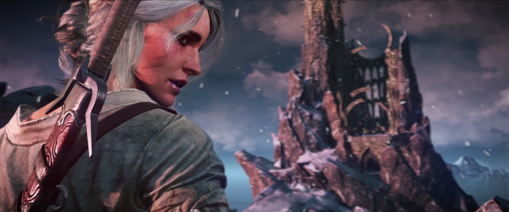 Ciri - the powerful adopted child of Geralt and Yenn.